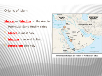 VA WHI.8 SOL Powerpoint Islamic Civilization