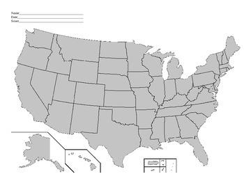 *VAAP* - 5th grade Social Studies- Surrounding States