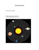 VAAP Aligned Solar System Materials
