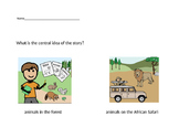"VAAP Central Idea Worksheet - ""African Safari"" (Low)"