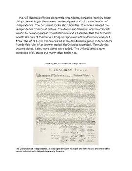 VAAP- Civics, Revolutionary War