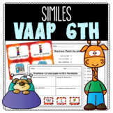 VAAP Similes (6th Grade Reading)