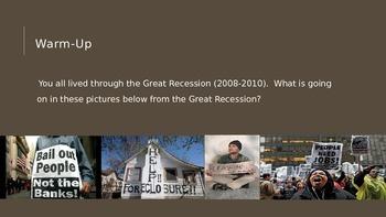 VAAP- High School History- Economics- The Great Depression