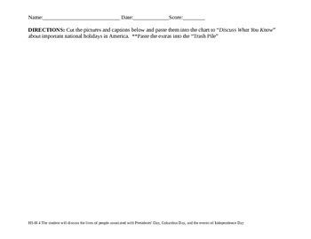 VAAP History Assessment