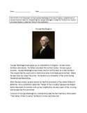VAAP History Middle School: George Washington Activity