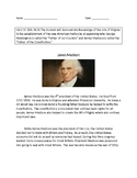 VAAP History Middle School: James Madison