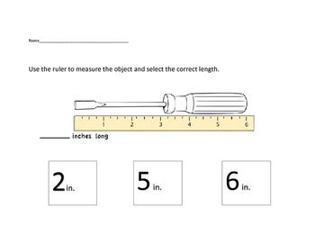VAAP Math - Measurement Length Packet (Low Level)