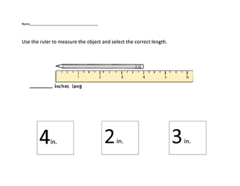VAAP Math - Measurement Length Packet (Low Level)