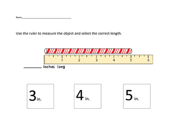 VAAP Math - Measuring Length (Low Level)