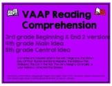 VAAP Reading Comprehension Activities