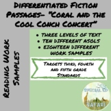 VAAP/SPED Fiction Comprehension Super Pack- Coral and the