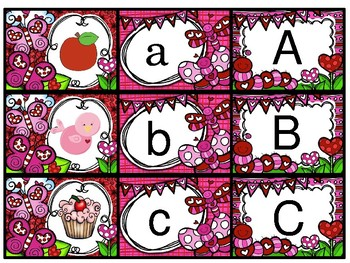 VALENTINE ALPHABET RECOGNITION SORT
