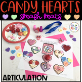 VALENTINE CANDY HEARTS SMASH/ACTIVITY MATS - ARTICULATION