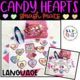 VALENTINE CANDY HEARTS SMASH/ACTIVITY MATS - LANGUAGE (SPE