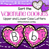 VALENTINE'S DAY Preschool Match Upper and Lower Case Alphabet Letters