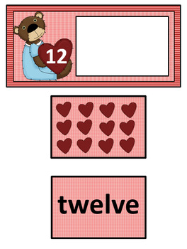 VALENTINE COUNTING MATH CENTER
