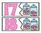 VALENTINE Candy Heart Number Puzzles - Numbers 1-20