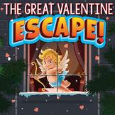 VALENTINE'S DAY Escape Room (Activities, Trivia & Games)