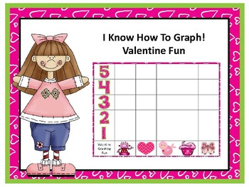 VALENTINE GRAPHING COUNTING GROUPING MATH CENTER