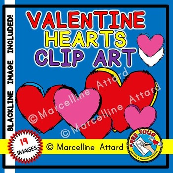 VALENTINE'S DAY CLIPART HEARTS: DOUBLE HEARTS CLIPART: VALENTINE HEARTS CLIPART