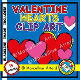 VALENTINE'S DAY CLIPART HEARTS: DOUBLE HEARTS CLIPART: VAL