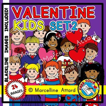 VALENTINE KIDS: VALENTINE'S DAY KIDS: CUTE CHILDREN CLIPART