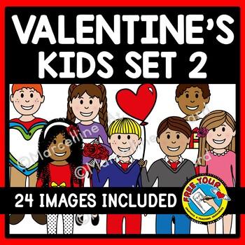 VALENTINE'S DAY KIDS CLIPART: VALENTINE'S DAY CLIPART KIDS