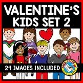 VALENTINE KIDS: VALENTINE'S DAY KIDS: CUTE CHILDREN CLIPART