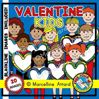 VALENTINES DAY CLIPART KIDS: VALENTINE'S DAY KIDS CLIPART: HEART BORDERS CLIPART
