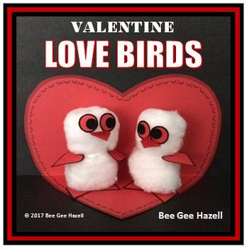 VALENTINE LOVE BIRDS Craft