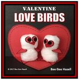VALENTINE'S DAY craft LOVE BIRDS