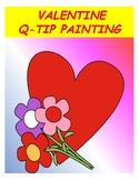 Valentine Q-tip Painting