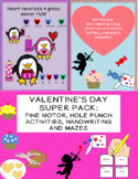VALENTINE'S DAY: 3 downloads 9.50 for 13.50, fine motor, r