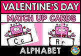KINDERGARTEN VALENTINE'S DAY ACTIVITY PRESCHOOL (ALPHABET LETTERS MATCH UP GAME)