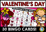 VALENTINE'S DAY BINGO GAME (FEBRUARY ACTIVITIES) VALENTINE
