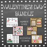 VALENTINE'S DAY BUNDLE BEGINNING SOUNDS & COUNTING