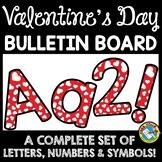 VALENTINE'S DAY CLASSROOM DECORATION (HEARTS BULLETIN BOAR