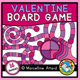 VALENTINE'S DAY CLIPART (GAME BOARD CLIPART) BUILD A GAME CLIPART