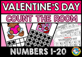 FEBRUARY ACTIVITY KINDERGARTEN (VALENTINE'S DAY COUNT THE