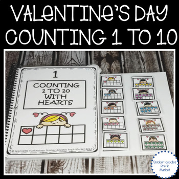 ADAPTED BOOK VALENTINE'S DAY COUNTING 1 TO 10