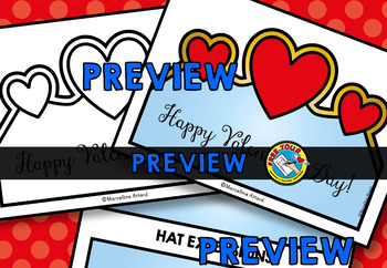VALENTINE'S DAY CRAFT HAT OR CROWN (FEBRUARY ACTIVITIES KINDERGARTEN)