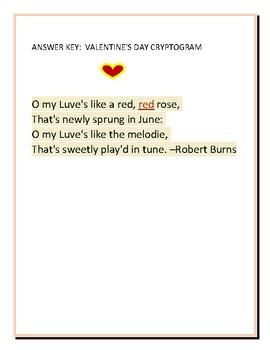 VALENTINE'S DAY CRYPTOGRAM: TAKE THE CHALLENGE