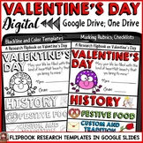 VALENTINE'S DAY: DIGITAL RESEARCH REPORT FLIPBOOK: GOOGLE DRIVE: GOOGLE SLIDES