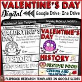 VALENTINE'S DAY: DIGITAL RESEARCH REPORT FLIPBOOK: GOOGLE DRIVE: GOOGLE SLIDES