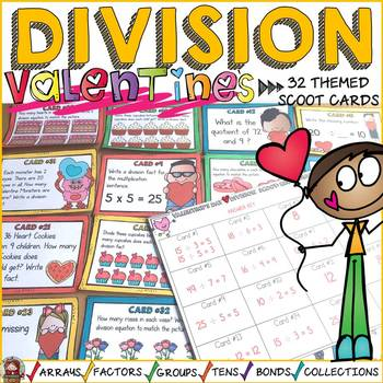 VALENTINE'S DAY DIVISION SCOOT: NUMBER SENSE