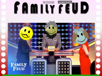 VALENTINE'S DAY FAMILY FEUD! Fun, Interactive game with handouts