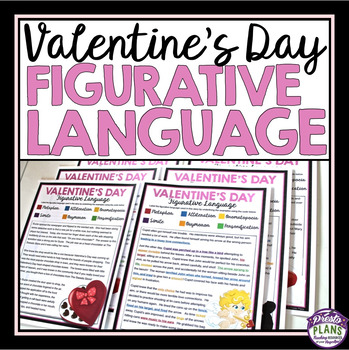 VALENTINE'S DAY READING FIGURATIVE LANGUAGE - 5 STORIES