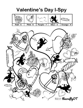 VALENTINE'S DAY: Figure-Ground I-Spy