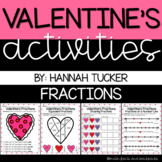 VALENTINE'S DAY: Fraction Skills Activities