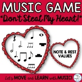 "Music Game: ""Don't Steal My Heart"" for Valentine's Day"